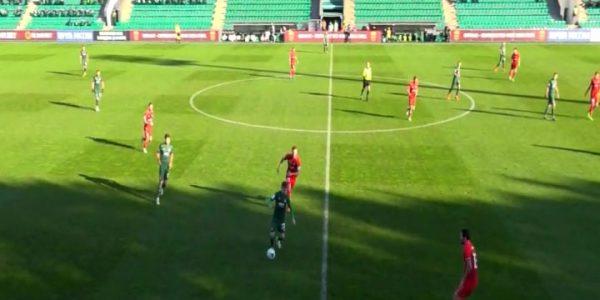 ФК «Краснодар-2» сыграл вничью с «Акроном» в домашнем матче 25 тура ФНЛ