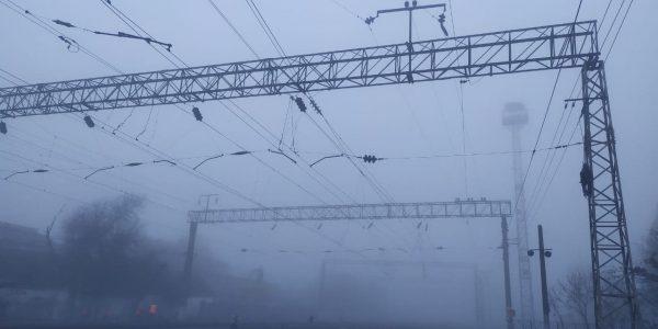 «Молоко на улице» — Краснодар утром 27 ноября накрыл густой туман