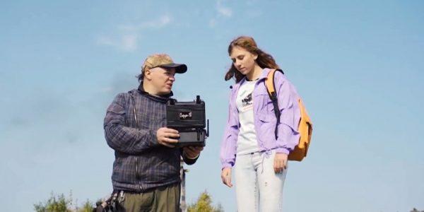В ВДЦ «Орленок» прошла премьера сериала «Посмотрим», снятого школьницами