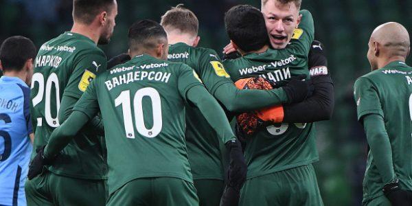 ФК «Краснодар» разгромил «Ротор» со счетом 5:0
