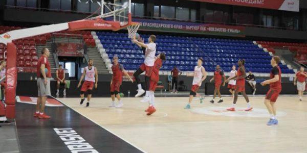 ПБК «Локомотив-Кубань» готовится к матчу с пермской «Пармой»