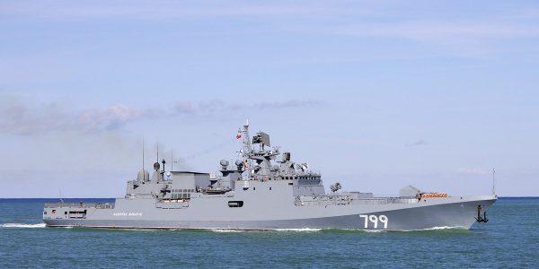 Корабли ЧФ полным составом вышли на учения в Черном море