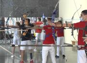 Поднятие лука и выстрел: как на Кубани тренируются сильнейшие лучники России