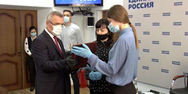 Партия «Единая Россия» 1 декабря отметила 19 лет со дня образования
