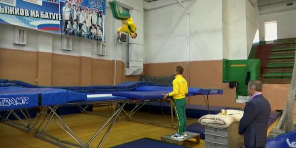 Спортсмен из Ейска стал чемпионом России по прыжкам на батуте