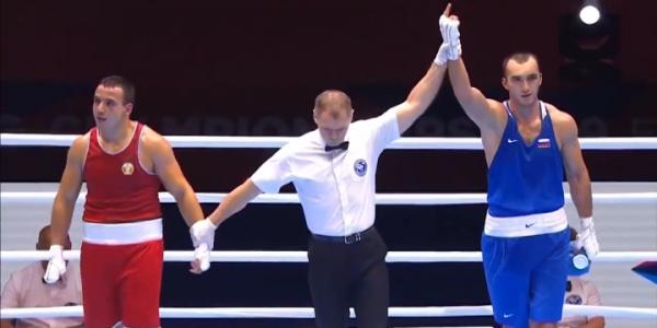 Краснодарский боксер выступит в полуфинале чемпионата России