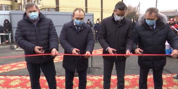 В Кущевском районе по краевой программе открыли новую модульную котельную