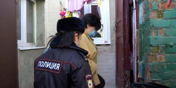 В Краснодаре сотрудники МЧС провели противопожарный профилактический рейд