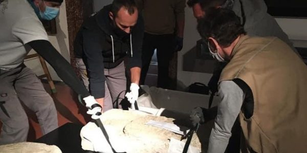 В Россию в середине декабря доставят артефакты, вывезенный нацистами из Темрюка