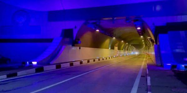 В Сочи после ремонта досрочно открыли один из самых длинных тоннелей в России