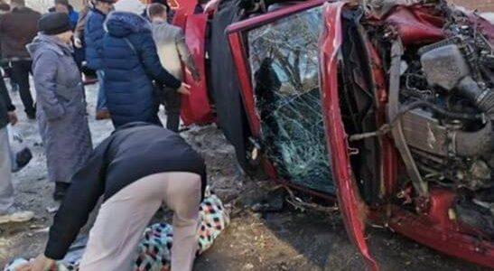 На Кубани разбили культовый спорткар Ford Mustang