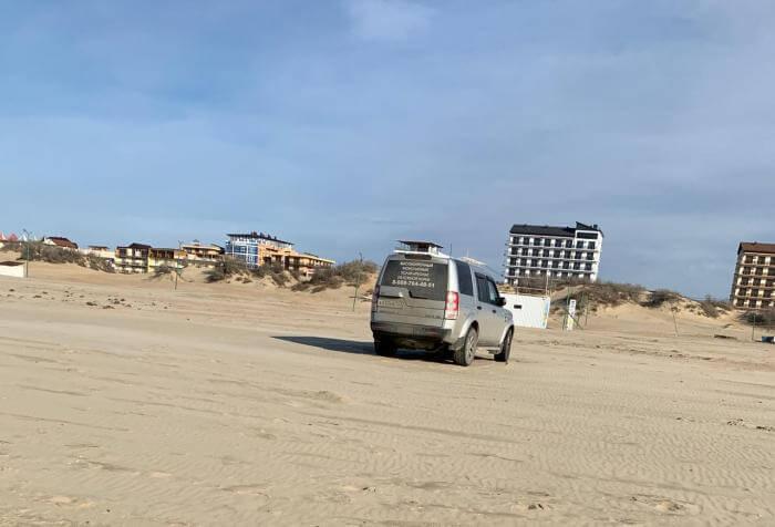 В Анапе будут штрафовать автомобилистов, выезжающих на пляжи