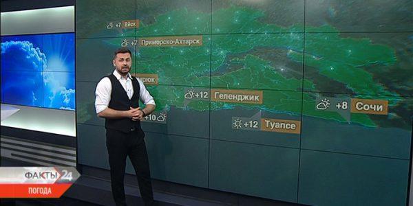 Южный ветер принесет на Кубань тепло 23 января