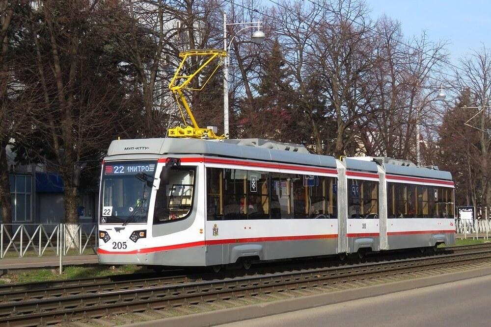 В Краснодаре с 16 января по Московской перестанут ходить 5 трамвайных маршрутов