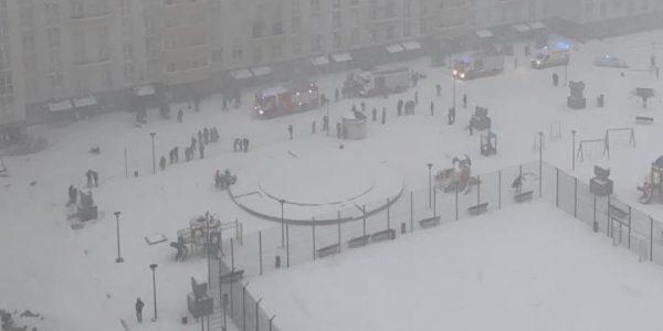 В Краснодаре утром из-за пожара в многоэтажке эвакуировали 90 человек