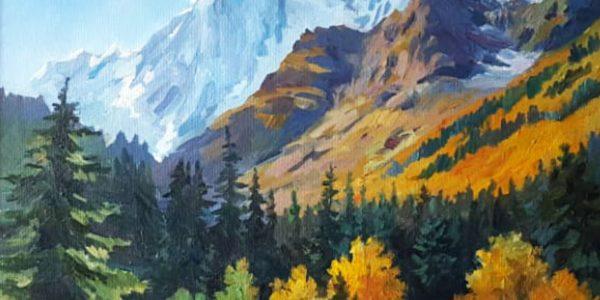 В Краснодаре пройдет выставка живописи, посвященная величию Кавказских гор