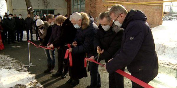 Новую модульную котельную открыли в станице Рязанской Белореченского района