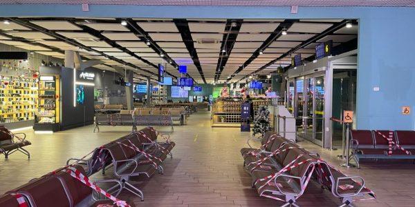 В аэропорту Краснодара продлили ограничения на обслуживание рейсов до 00:00