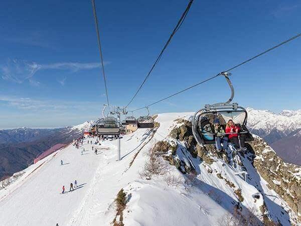 Зимний сезон в горах Сочи планируют продлить до мая