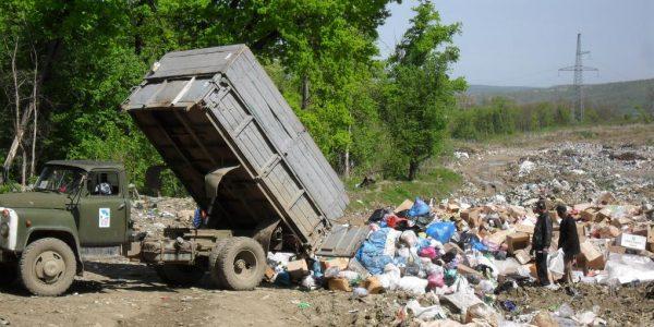 В районе Западного обхода Краснодара убрали незаконную свалку стройотходов