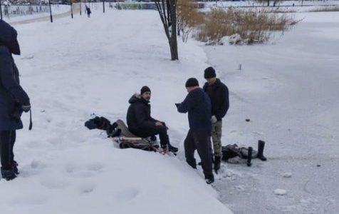 В Горячем Ключе на озере под лед провалился мужчина, он утонул