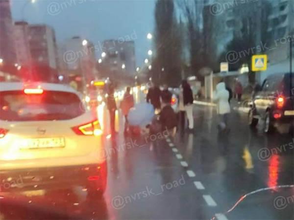 В Новороссийске в ДТП серьезно пострадала десятилетняя девочка