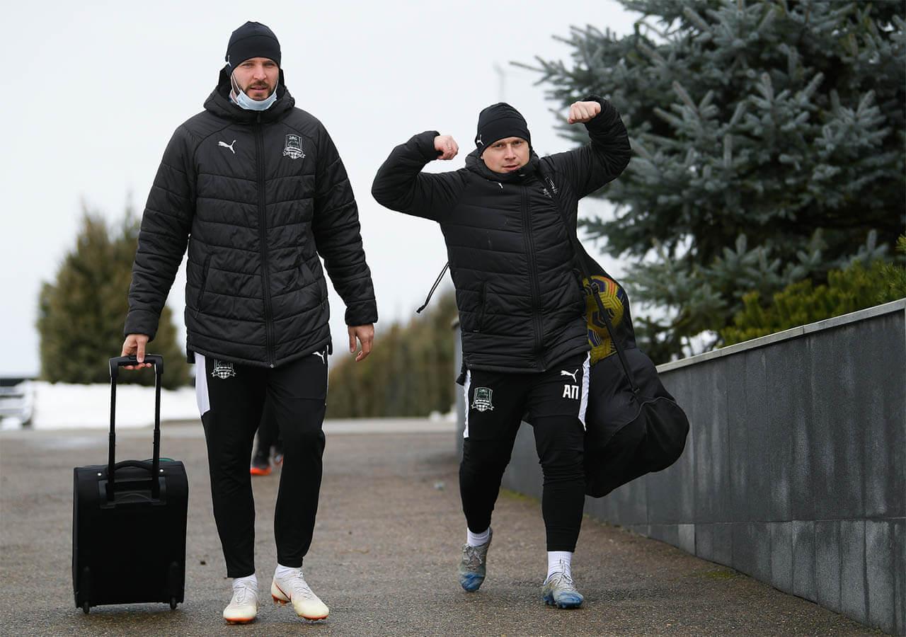 ФК «Краснодар» завершил каникулы и отправился на сборы в ОАЭ