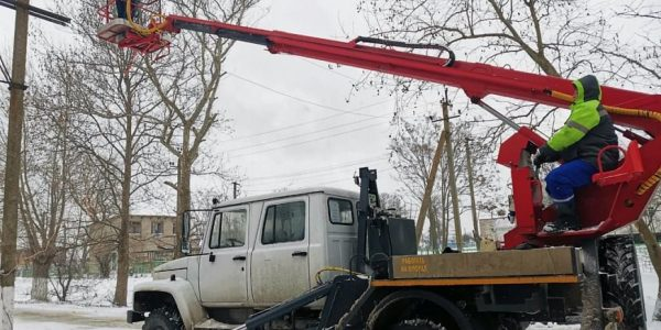 В Анапе и станице Новомышастовской восстановили энергоснабжение