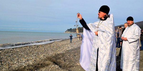 В Сочи определили 6 мест для крещенских купаний