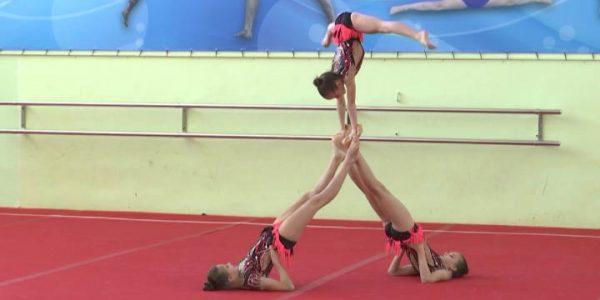 В Краснодаре подвели итоги чемпионата и первенства края по спортивной акробатике