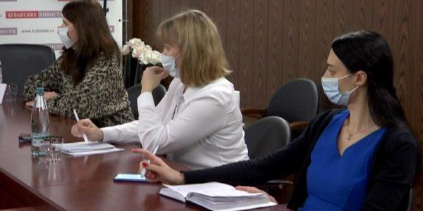 В Краснодаре прошел брифинг, посвященный прививочной кампании от COVID-19