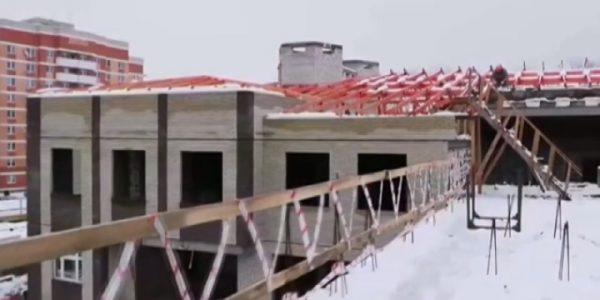 В Кореновске заканчивают строительство детского сада на 325 мест