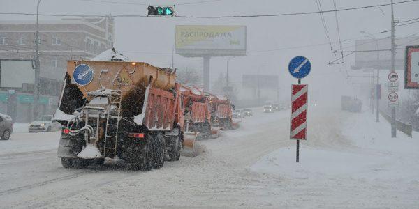 Для вывоза снега из Краснодара привлекут КамАЗы строительных компаний