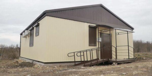 В хуторе под Анапой по нацпроекту «Здравоохранение» построили новый ФАП