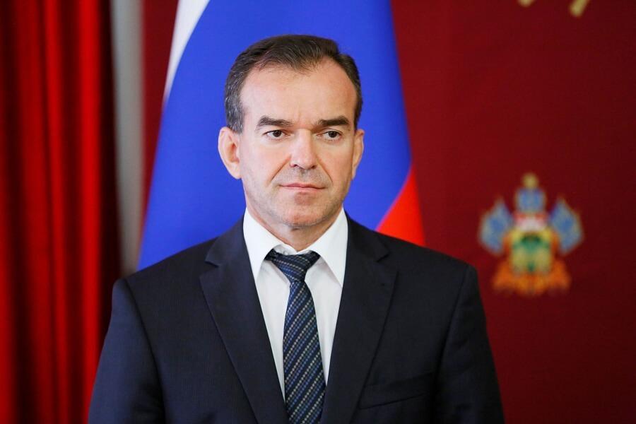 Кондратьев поздравил с юбилеем председателя ЗСК Юрия Бурлачко