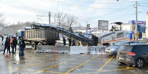 В Краснодаре стартовало строительство новой трамвайной линии на Московской