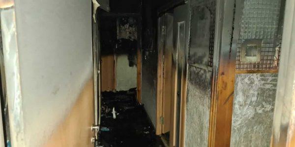 В Новороссийске во время пожара в многоэтажке погибла пожилая женщина
