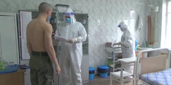На военную базу ЮВО в Абхазии доставили 500 доз вакцины «Спутник \/»