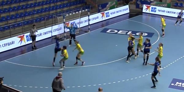 ГК «Кубань» сыграл вничью с румынской «Дунарией» в групповом этапе Лиги Европы