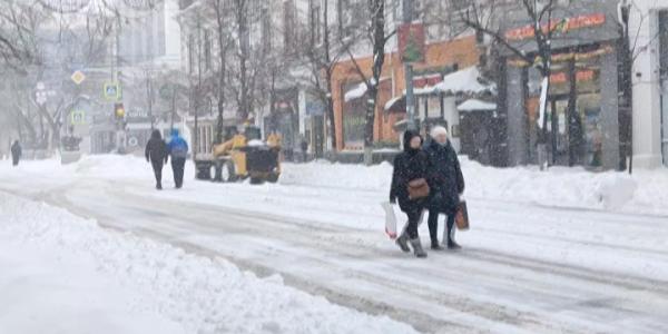 На дорогах Кубани оборудованы шесть мобильных пунктов обогрева