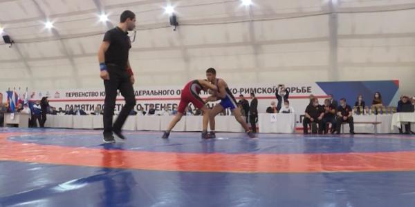 Кубанские борцы завоевали 18 медалей на первенстве ЮФО по греко-римской борьбе