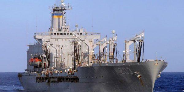 Танкер ВМС США вошел в акваторию Черного моря для заправки эсминца Donald Cook