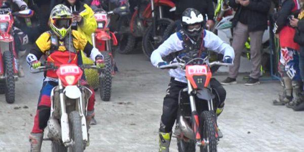 На Кубани мотоциклисты соревновались в езде по бездорожью