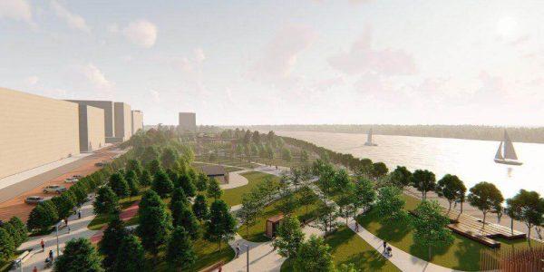 В Краснодаре набережную вдоль реку Кубань планируют построить за четыре года