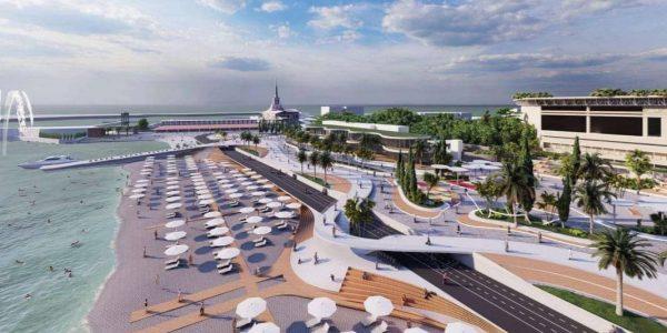 В Сочи расширят центральную набережную и создадут два новых сквера