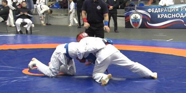 На Кубани прошли соревнования по рукопашному бою