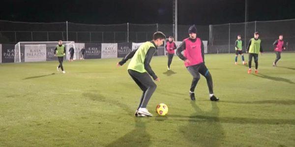 ФК «Сочи» продолжает тренироваться на сборах в Турции