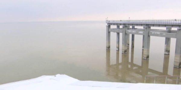 Краснодарское водохранилище начало стремительно наполняться