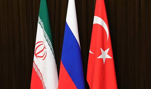 В Сочи начались трехсторонние консультации России, Турции и Ирана