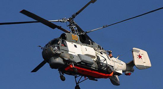Авиаполк в Краснодарском крае получил новый поисково-спасательный вертолет Ка-27